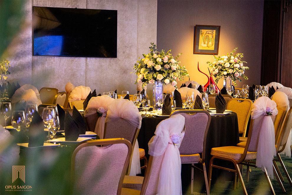 tổ chức tiệc kỉ niệm ngày cưới - đám cưới ngọc trai