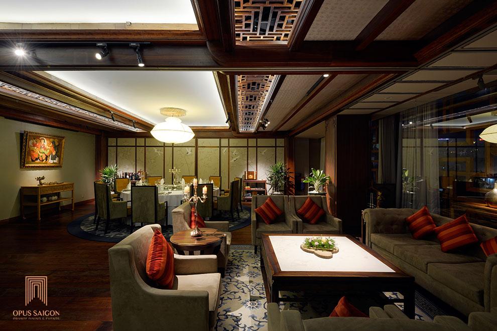 Nhà hàng phòng riêng tại Sài gòn