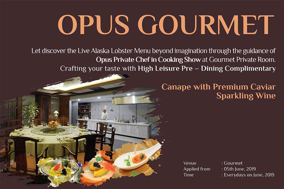 Opus Gourmet