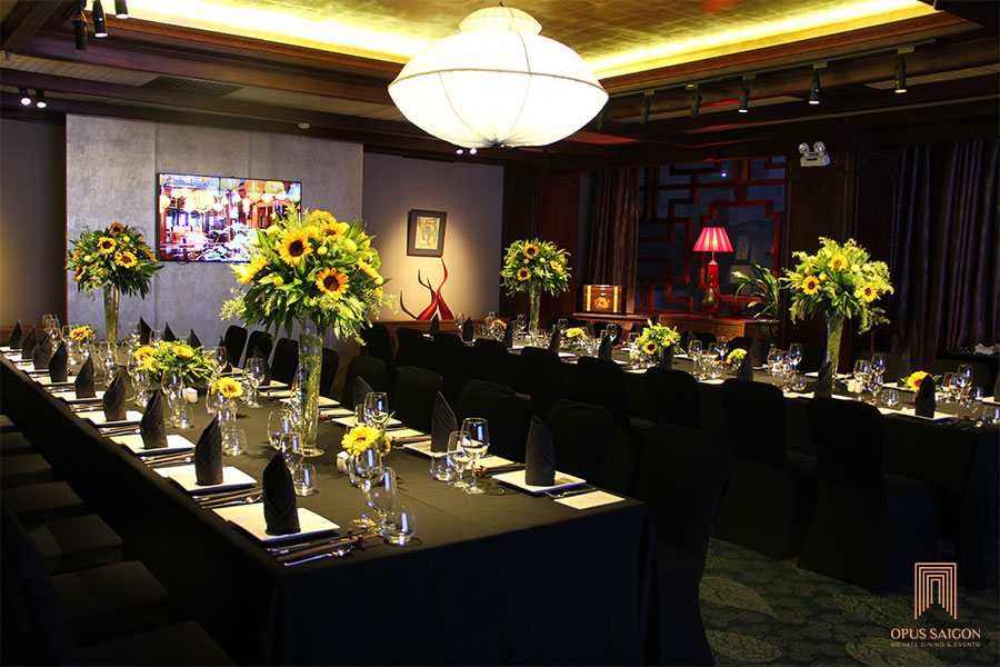 The Queen banquet room